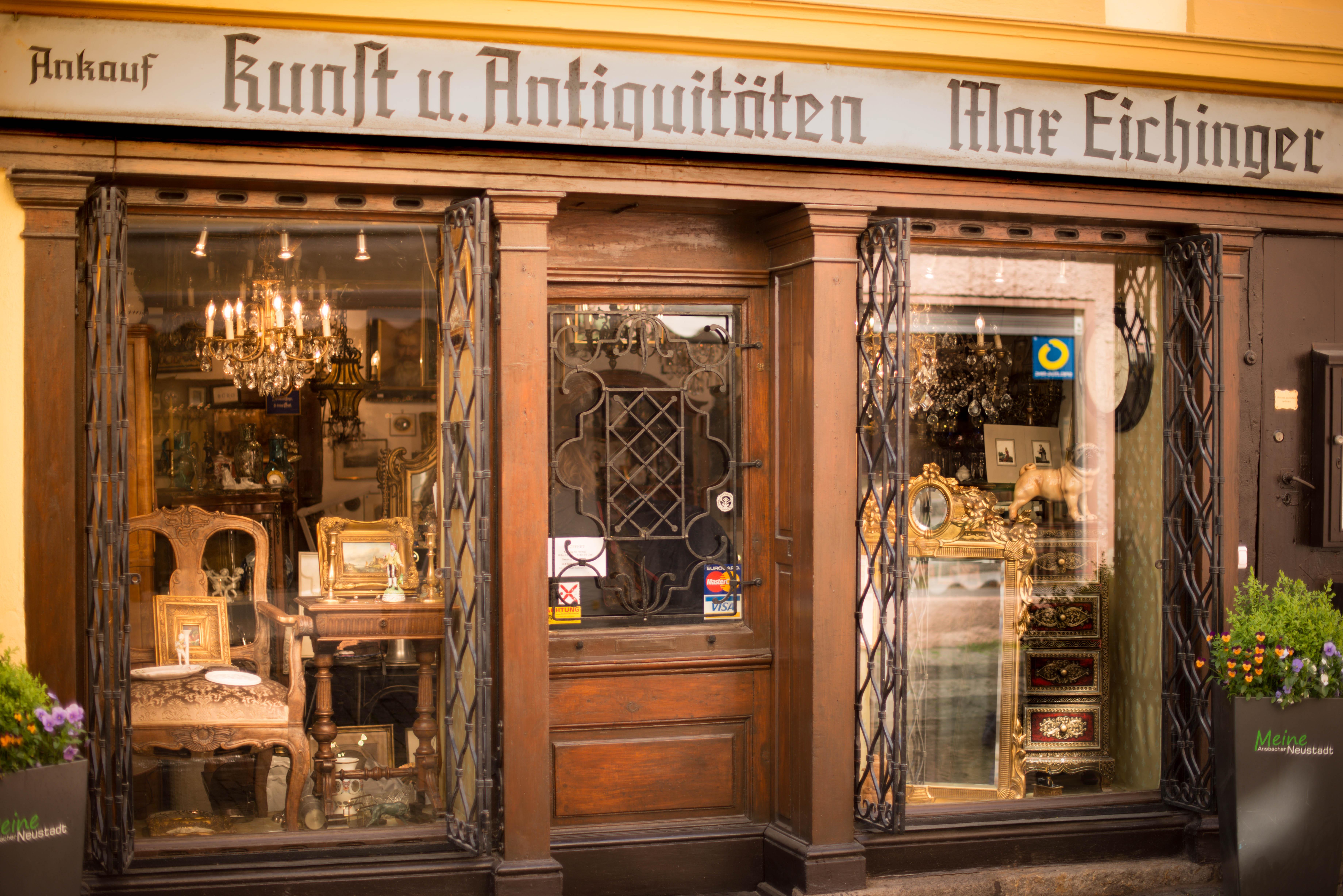 Ankauf Verkauf Von Antiquitäten In Ansbach Antiquitäten Eichinger